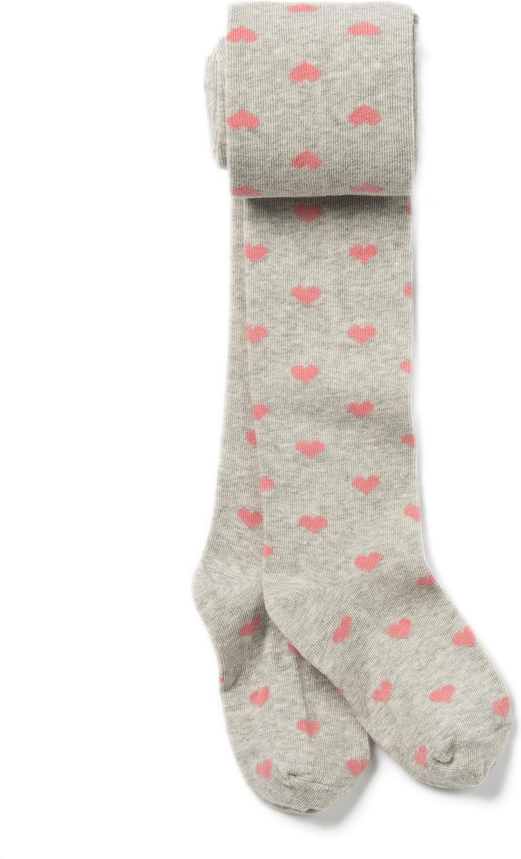Колготки для девочки ARTIE, цвет: серый, розовый. 2d105. Размер 122/128