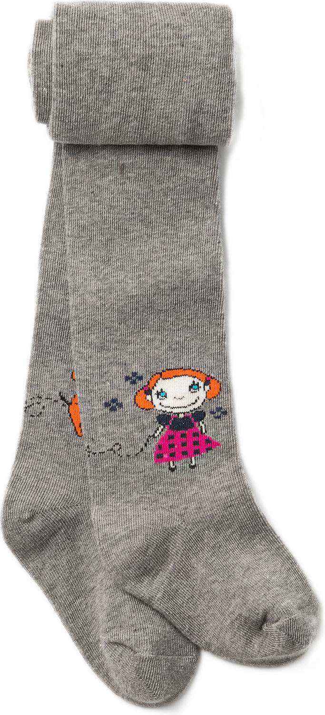 Фото Колготки для девочки ARTIE, цвет: серый. 2d357. Размер 86/92