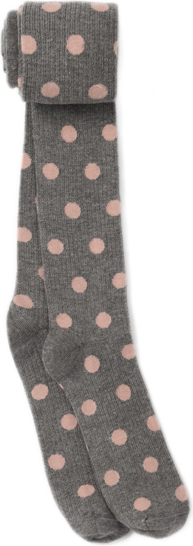 Колготки для девочки ARTIE, цвет: темно-серый, розовый. 2d116. Размер 122/128