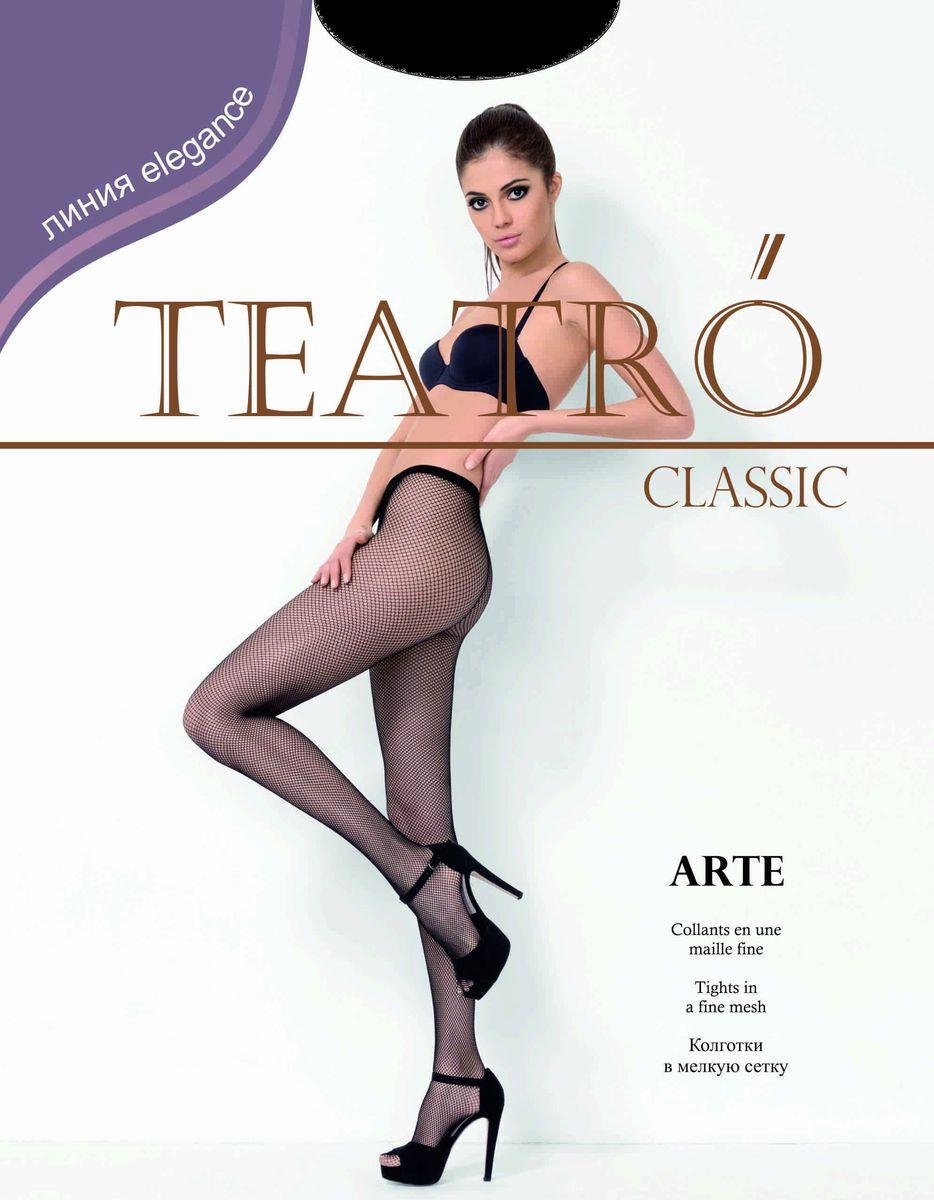 Колготки женские Teatro Arte, цвет: Nero (черный). Размер 3/4 колготки orso bianco колготки 3 шт