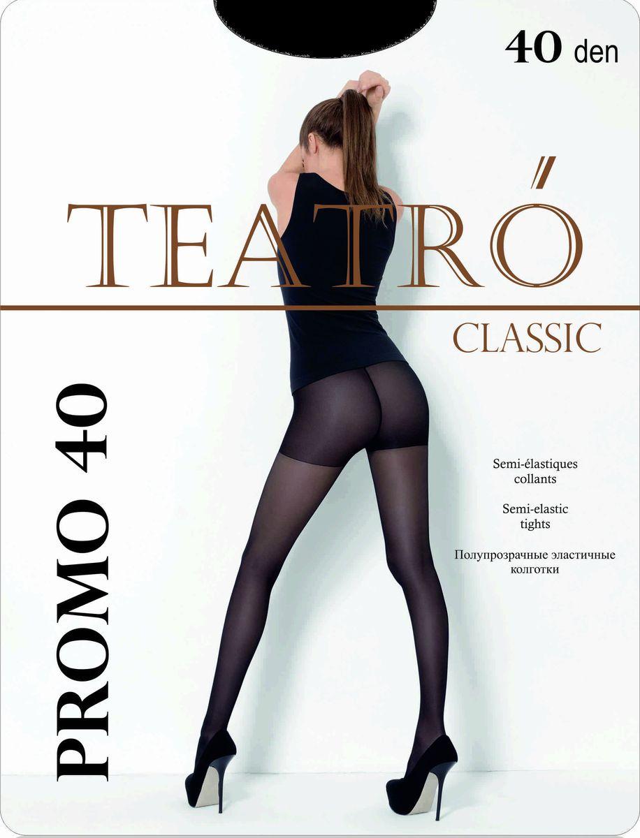 Колготки женские Teatro Promo 40, цвет: Melon (светло-бежевый). Размер 5 чулки женские teatro prestige 40 цвет melon светло бежевый размер 4