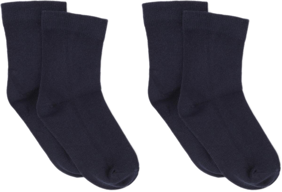 Носки ARTIE, цвет: синий, 2 пары. 2-3a000. Размер 22/24 носки детские гранд цвет серый 2 пары tcl8 размер 22 24