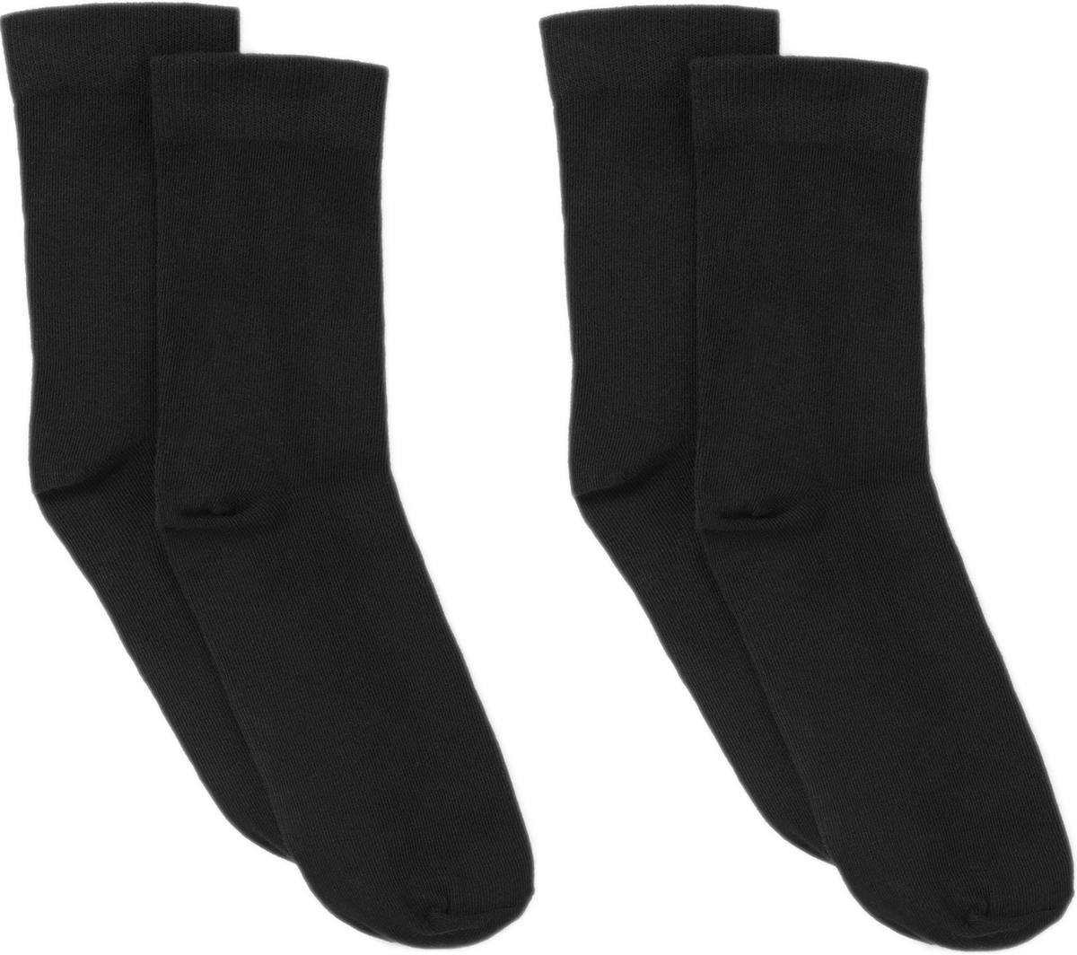 Носки ARTIE, цвет: черный, 2 пары. 2-3a000. Размер 22/24