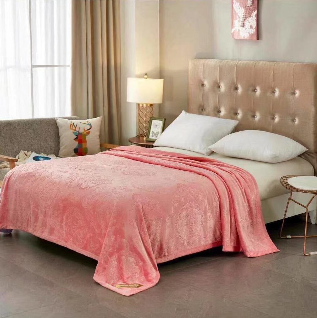 Плед Tango Brooklyn, цвет: розовый, 200 х 220 см пледы linea lore плед chingiz khan