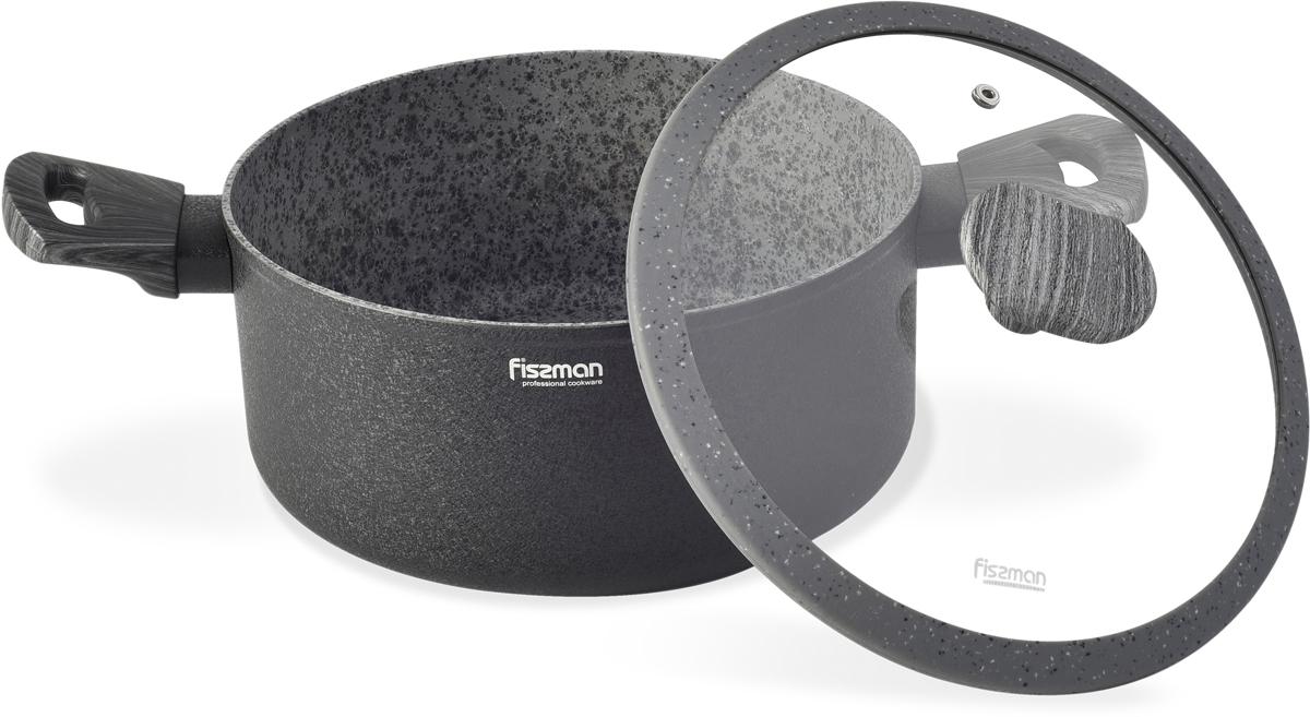 Новая серия посуды Charm Stone от компании FISSMAN изготовлена из литого алюминия с многослойным антипригарным покрытием EcoStone, которое усилено вкраплением каменных частиц. Главное преимущество покрытия - это устойчивость к царапинам и износу. Также покрытие безопасно для здоровья человека и окружающей среды. Утолщенное дно сковороды рационально распределяет тепло, что позволяет продуктам готовиться быстро и равномерно. Приятная на ощупь ручка из бакелита не нагревается и не скользит в руках. Крышка стеклянная. Посуда серии Charm Stone - это уникальный дизайн и не превзойденное качество.Особенности покрытия: 5 сл., шероховатая; Твердость покрытия 3Н; Износостойкость - 10000 циклов; Толщина 40-60мкм.