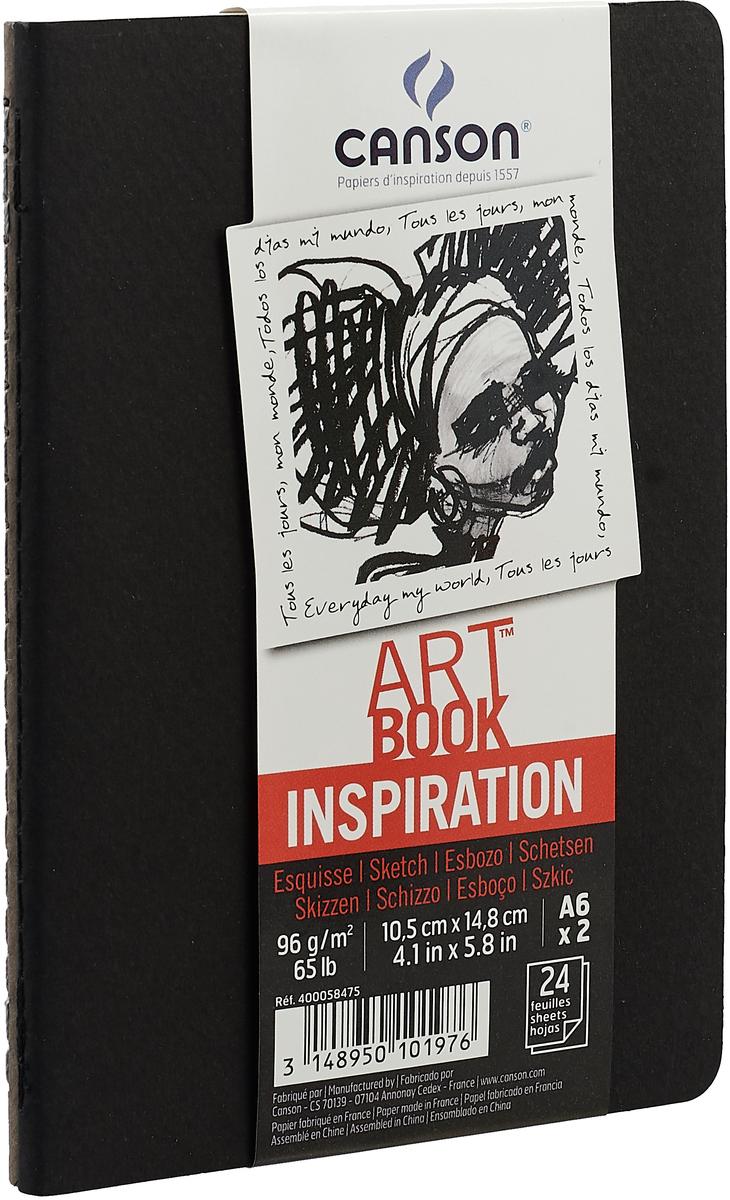 Canson Блокнот для зарисовок Art Book А6 24 листа 2 шт