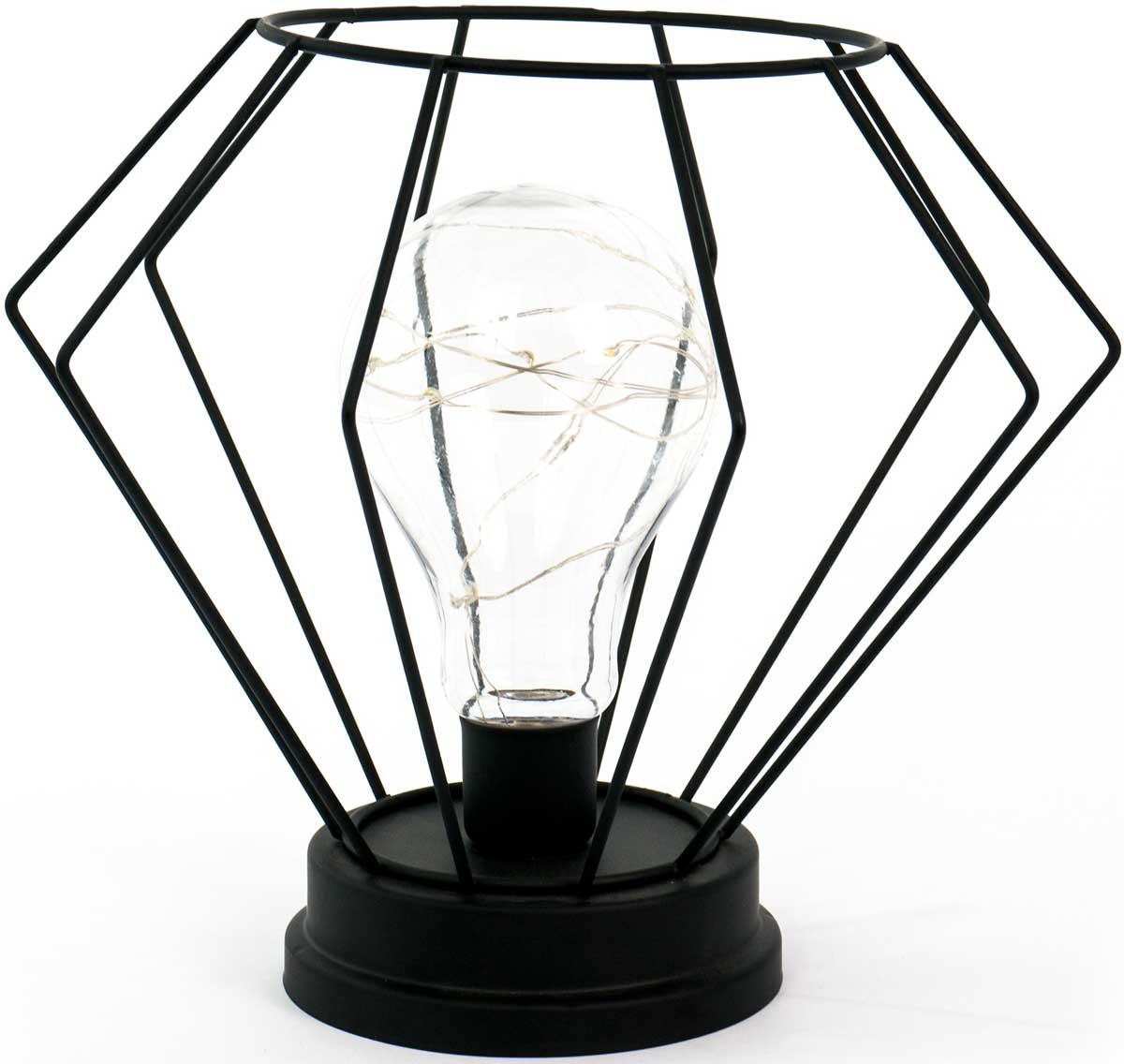 Светильник декоративный Miralight LM-066 , светодиодный, на батарейках, цвет: черный07651Декоративный светодиодный светильник является экономичным точечным источником света, удобным в использовании как внутри, так и вне помещений. Благодаря неяркому свету, светильник создает утонченную романтическую атмосферу. С наступлением дачного сезона особенно востребован при загородных поездках на дачу.