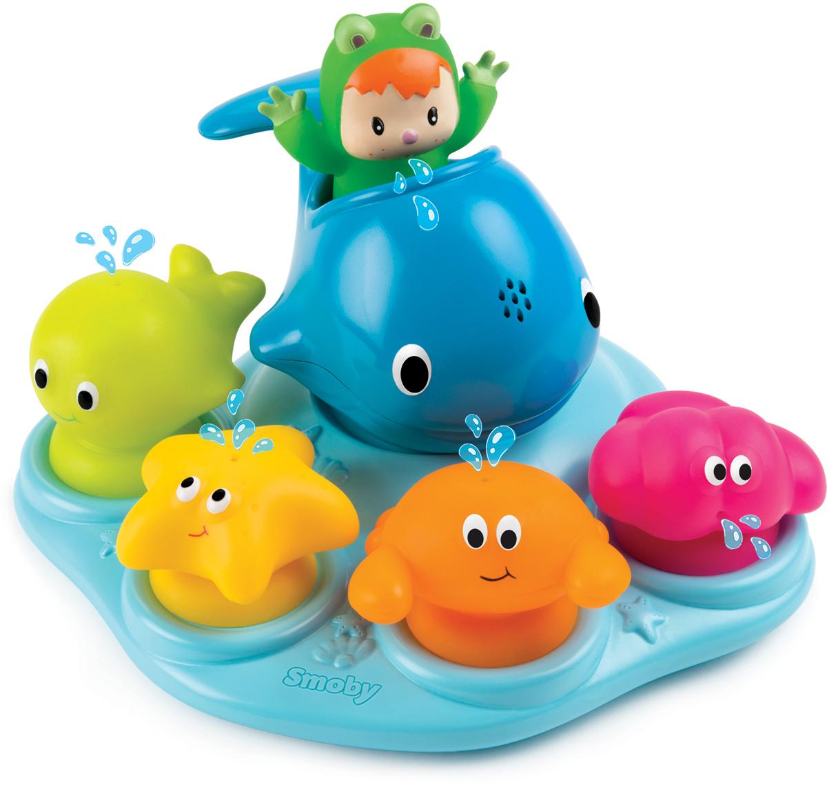 Smoby Игрушка для ванной Островок морских обитателей smoby стульчик сидение для ванной cotoons цвет розовый