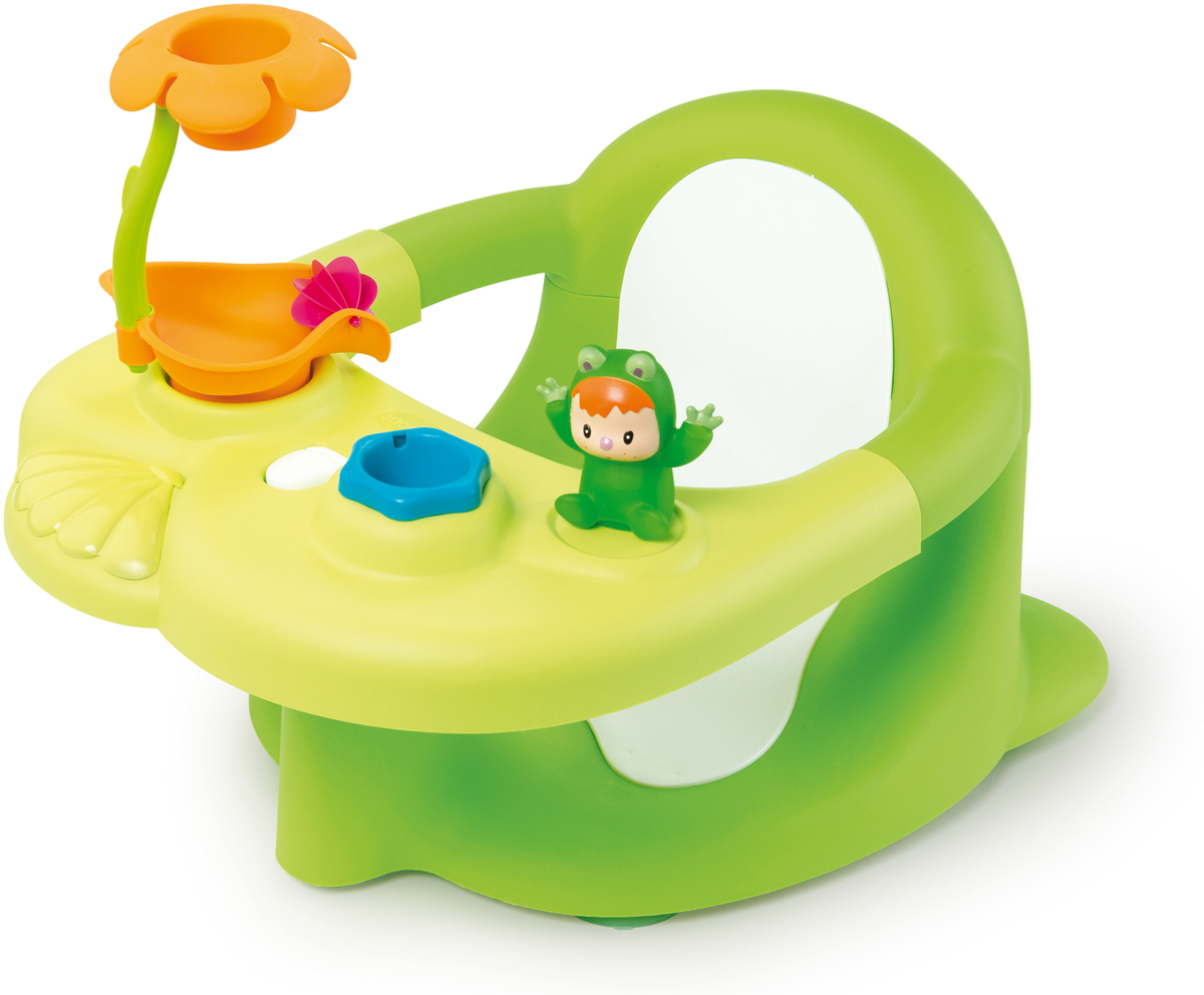 Smoby Стульчик-сидение для ванной Cotoons цвет зеленый smoby стульчик сидение для ванной cotoons цвет розовый