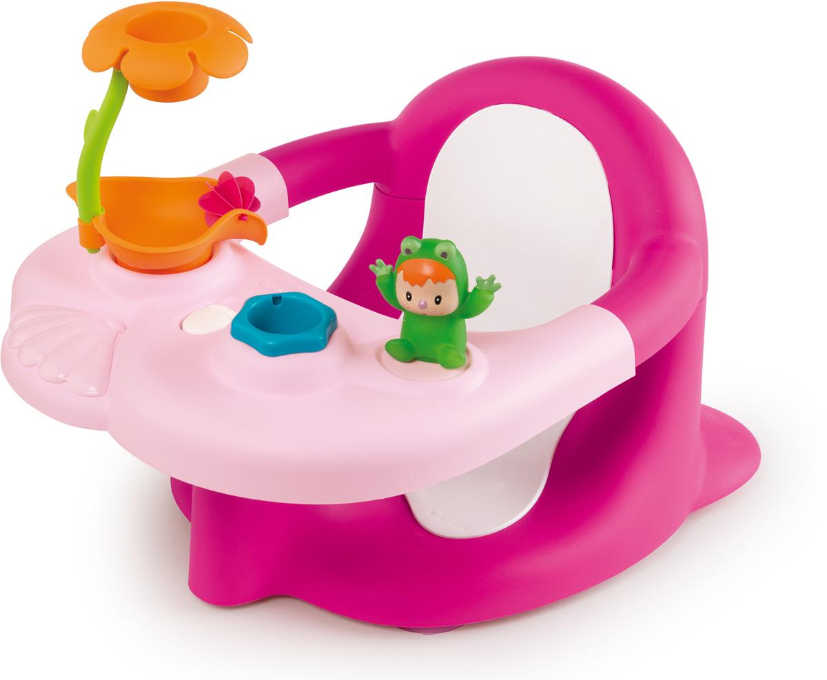 Smoby Стульчик-сидение для ванной Cotoons цвет розовый музыкальная подвеска smoby cotoons на кроватку