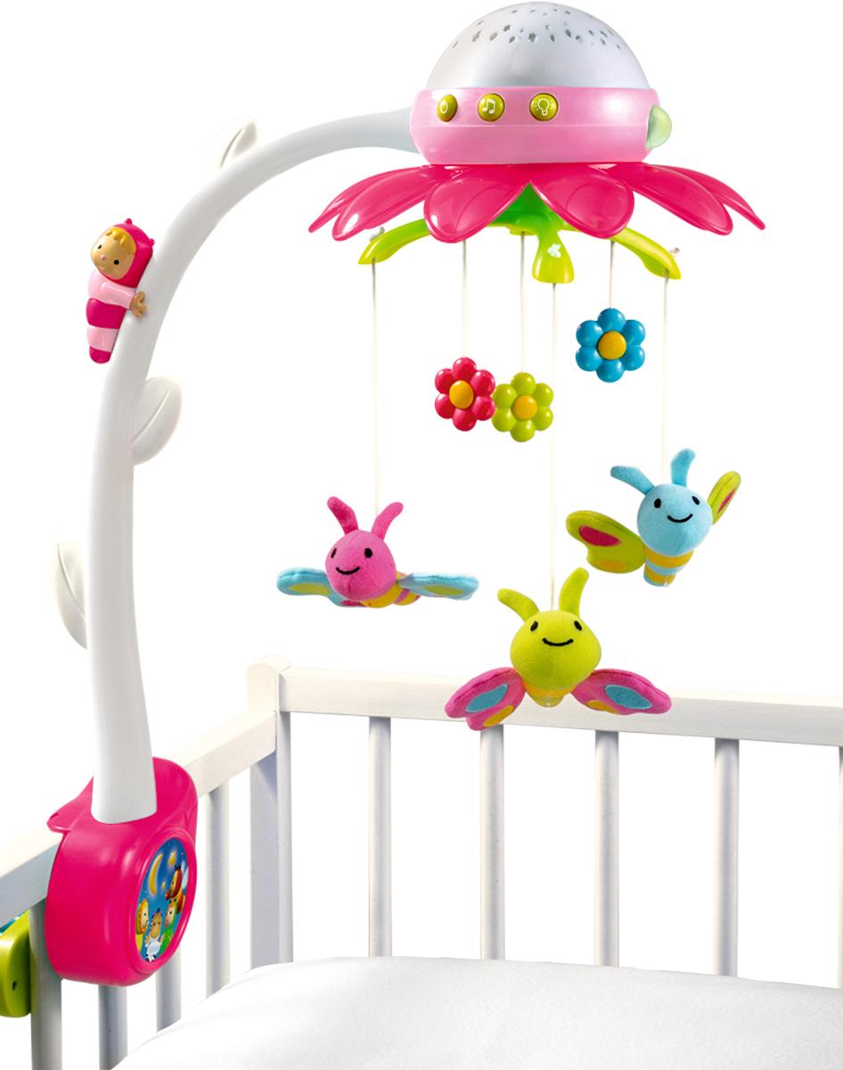 Smoby Мобиль музыкальный Цветок цвет розовый - Игрушки для малышей