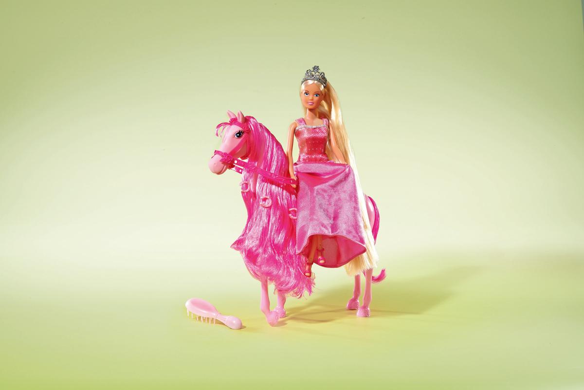 Simba Кукла Штеффи супер длинные волосы simba штеффи minni mouse с аксессуарами simba симба в ассорт