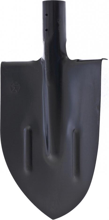 Лопата штыковая Сибртех, с ребрами жесткости, закаленная, упрочненная сталь, без черенка лопата штыковая прямоугольная закаленная без черенка