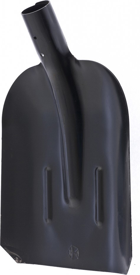 Лопаты торговой марки «Сибртех» - это удобный и долговечный инструмент, который обеспечит комфортную работу в саду и на приусадебном участке.  Благодаря утолщенному полотну и ребрам жесткости устойчивы к изгибающим нагрузкам.  Они выполнены из конструкционной углеродистой стали.  Улучшенная закалка рабочей кромки повышает их износостойкость.  Для защиты от коррозии металлическая часть покрыта порошковой эмалью.  Внутренний диаметр тулейки составляет 40 мм, это позволяет использовать инструмент с черенками артикулов 68425, 68422, 68441.  Предназначена для уборочных работ.  Бортики по краям ковша удерживают сыпучие материалы.  Конструкционная сталь СТ5.  Утолщенное полотно.  Порошковое покрытие.  2 ребра жесткости.  Без черенка.
