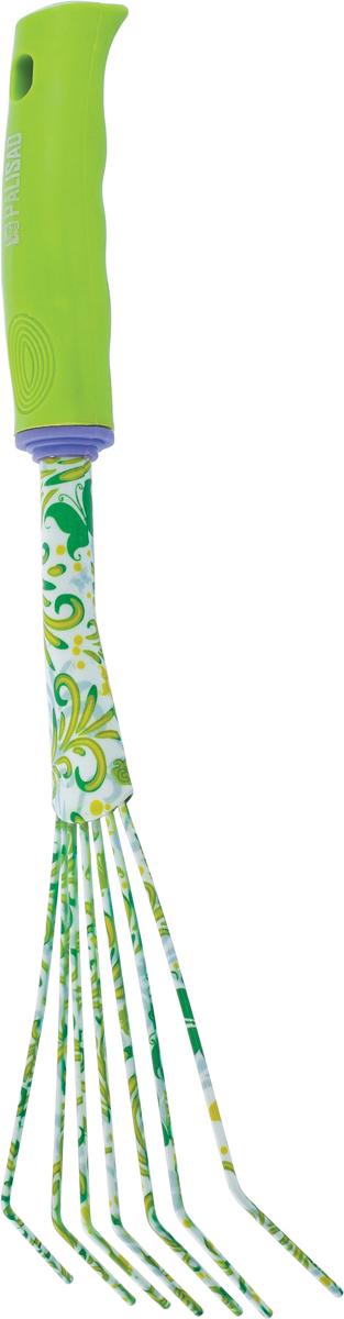 Грабли веерные Palisad, круглый зуб, пластиковая рукоятка рукоятка выдвижная к аксессуару для сбора мусора intex 50005