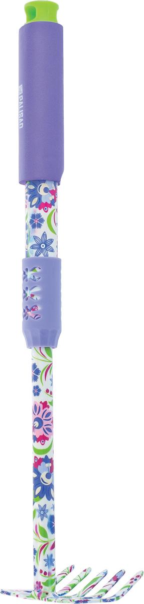 Грабли Palisad, 5-зубые, прямые удлиненные, обрезиненная рукоятка рукоятка выдвижная к аксессуару для сбора мусора intex 50005