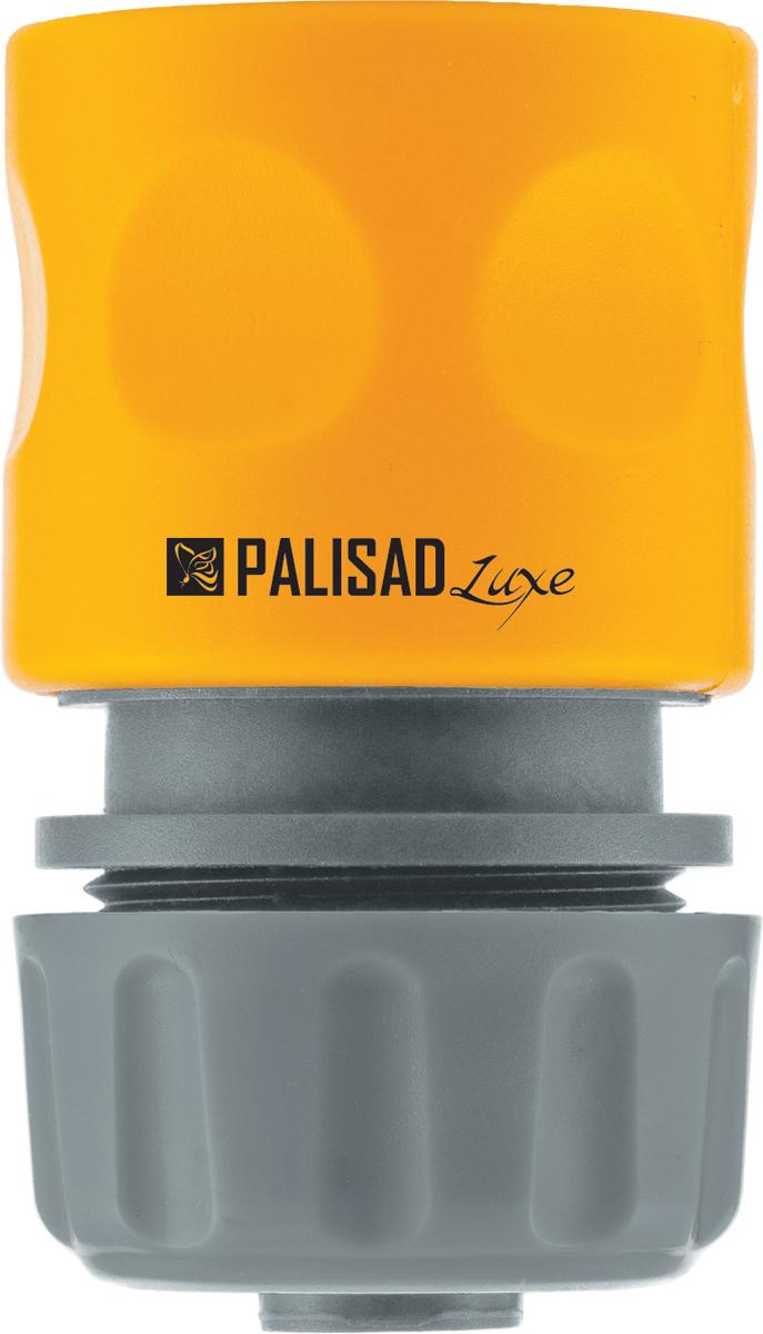 Соединитель садовый Palisad, пластмассовый, быстросъемный, для шланга 1/2, однокомпонентный коннектор для шланга truper латунный папа 1 2