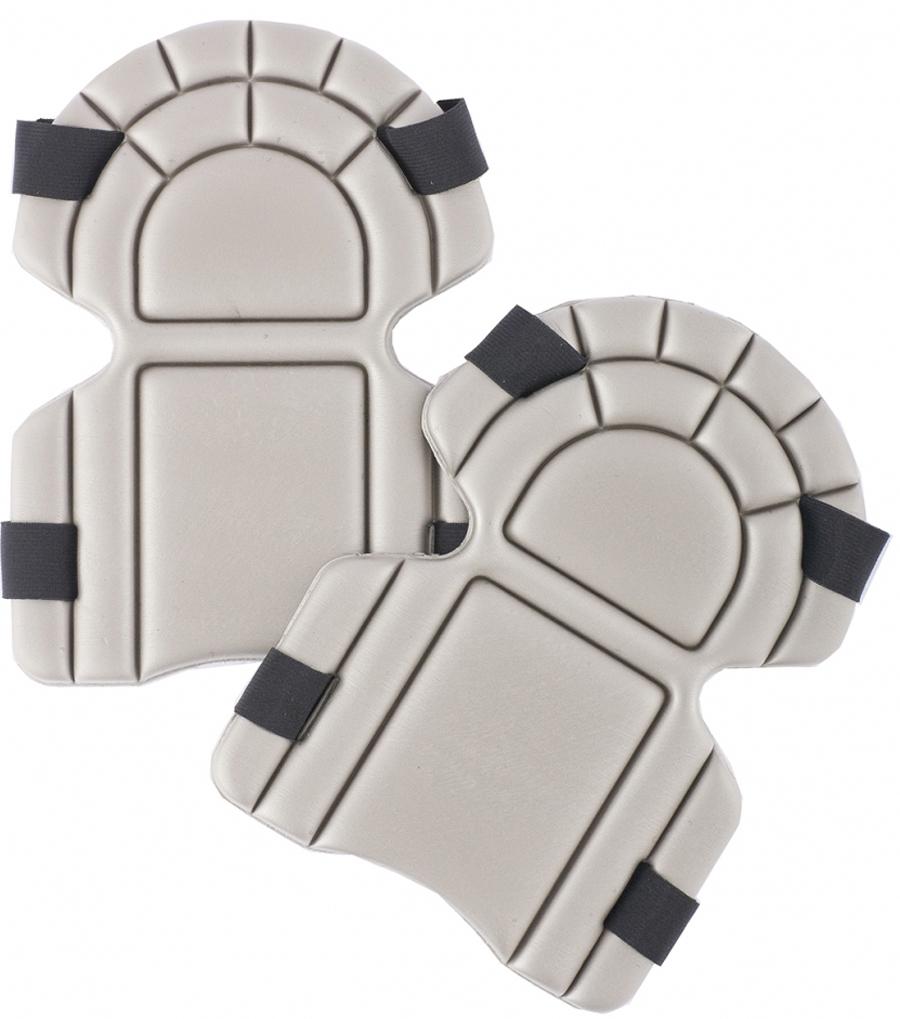 Наколенники пенополиэтиленовые предназначены для снятия нагрузки с коленного сустава при выполнении садово-огородных, производственных и бытовых работ.  Наколенники изготовлены из износостойкого и амортизирующего пенополиэтилена, надежно фиксируется на ногах с помощью широких эластичных лент-липучек.  Рельефная форма обеспечивает устойчивость на рабочей поверхности.  Могут быть использованы как вставки в защитную одежду.  Негигроскопичны.  Легко моются.  Удерживают тепло.
