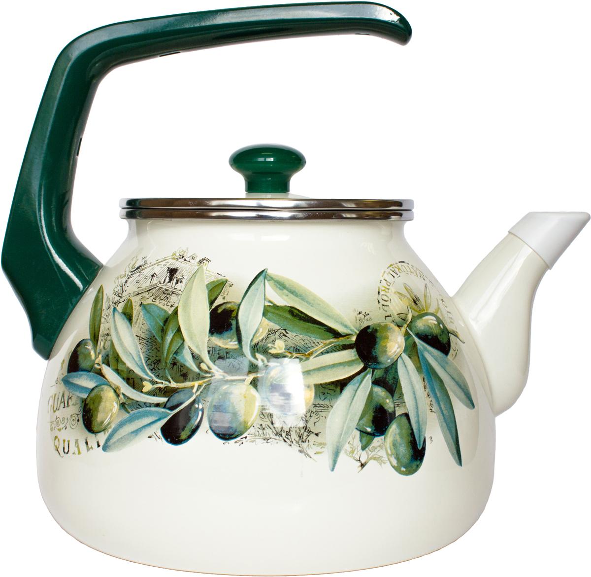 Чайник Interos Маслины, 3 л набор посуды interos 15231 маслины