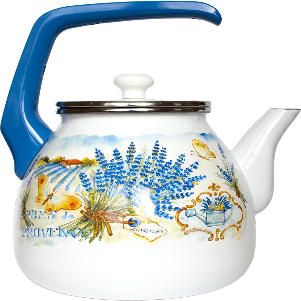 Чайник Interos выполнен из двойного покрытия эмали. Ручка удобной эргономичной формы выполнена из бакелита, не нагревается при использовании. Можно использовать на всех видах плит.Можно мыть в посудомоечной машине.