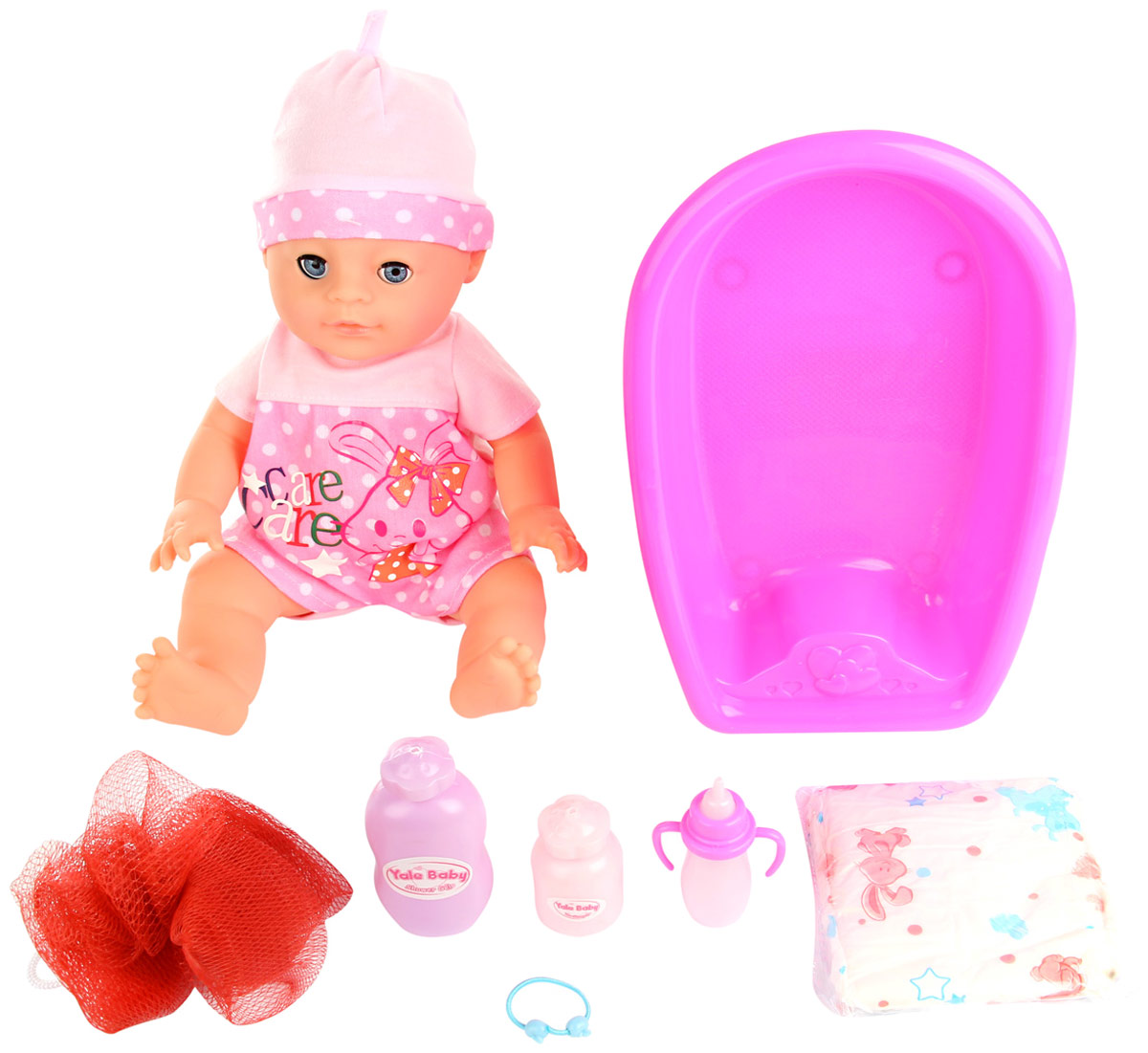 Lisa Jane Пупс с ванной 59474 lisa jane пупс с ванной 35 см 59476