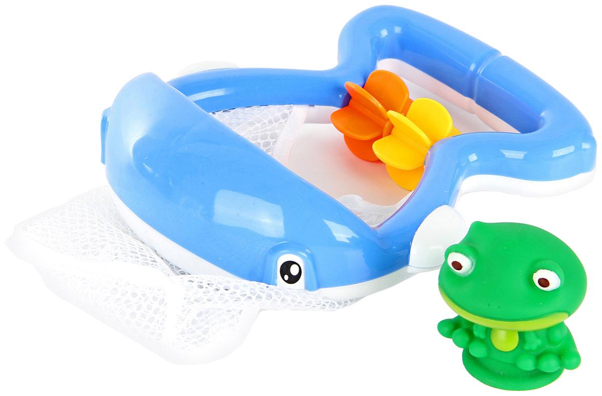 Ути Пути Игрушка для купания 62895 георгиев с маленький зеленый лягушонок