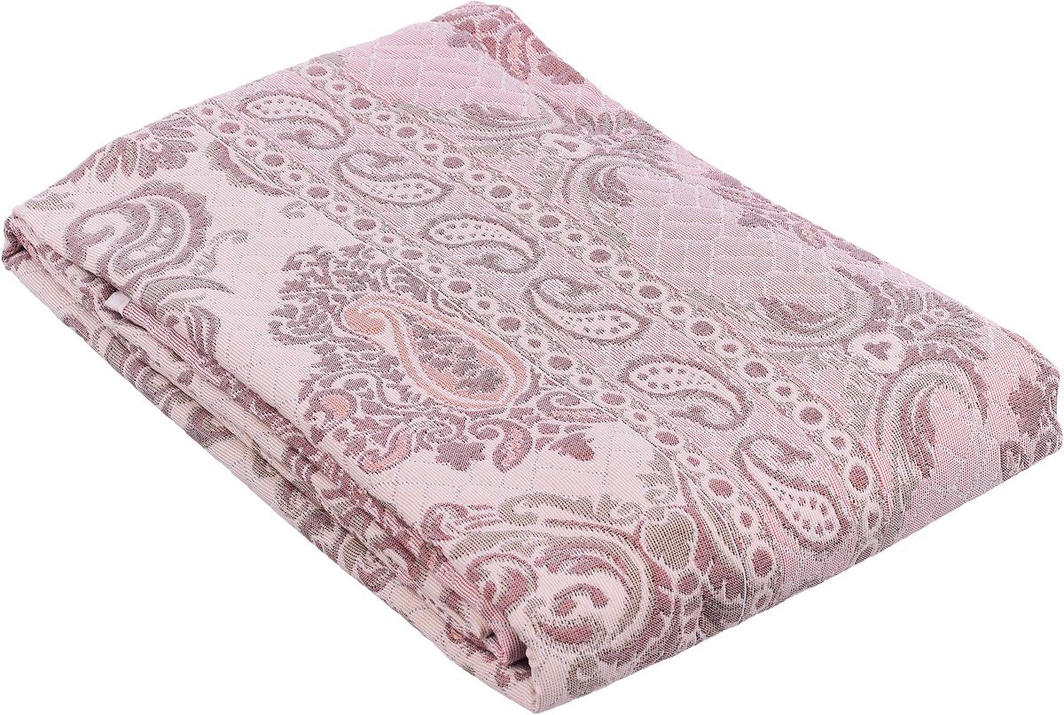 Покрывало Arya Tay-Pen, цвет: пепельнорозовый, бордовый, 240 х 170 см