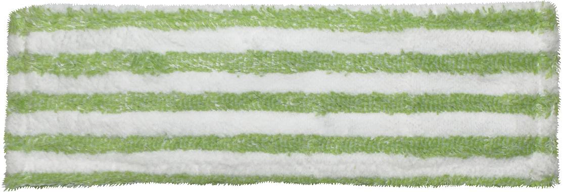 Насадка для швабры Фэйт Страйп, цвет: белый, фиолетовый1.4.02.320Сменная насадка для швабры Фэйт Страйп изготовлена из микрофибры и подходит для швабр Флаундер-2 и Флаундер-4. Материалобладает высокой износостойкостью, не царапает поверхности и отлично впитывает влагу. Насадка отлично удаляет большинство жирных имаслянистых загрязнений без использования химических веществ.Изделие идеально подходит для мытья всех типов напольных покрытий, не оставляет разводов и ворсинок.Сменная насадка для швабры Фэйт Страйп станет незаменимой в хозяйстве.