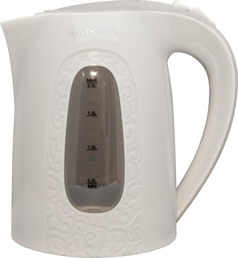 RoverTech EK051, Ivory чайник электрическийEK051Электрический чайник RoverTech EK051 выделяется наличием фактурного рисунка на корпусе и голубой подсветкой внутри резервуара. Вам не придется часто наполнять чайник водой, т.к. он обладает емкостью в 2 литра.