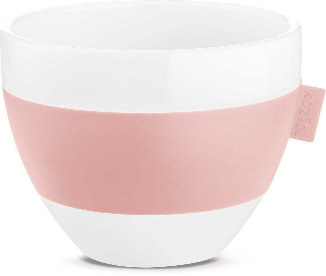 Термокружка Koziol Aroma M, цвет: розовый, 270 мл3571486Чашка с термоэффектом Aroma из термопластика сохранит температуру горячего напитка, но при этом её поверхность не нагреется и не будет обжигать ладони.Объем: 270 мл.Можно мыть в посудомоечной машине.Не содержит меламин.