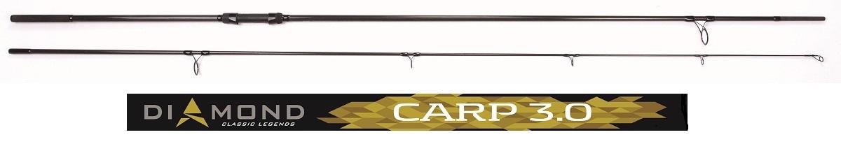 Удилище карповое Salmo Diamond CARP, штекерное, 3,6 м, 3,0 lb