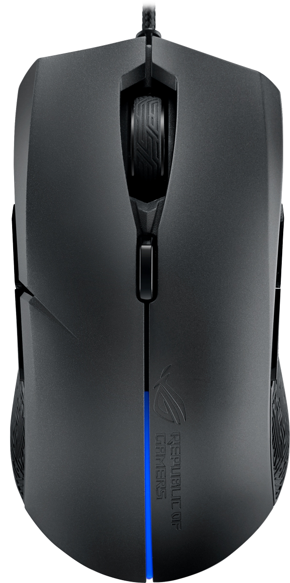 ASUS Strix Evolve 90MP00J0-B0UA00, Black игровая мышь мышь asus rog strix impact 90mp00p0 b0ua00