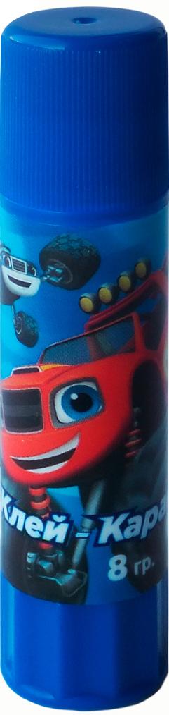 Вспыш Клей-карандаш Blaze and the Monster Machines 8 г33926Клей-карандаш Вспыш идеально подходит для детских поделок и аппликаций из бумаги, картона, ткани и фотографий. Клей легко и равномерно наносится, экономично расходуется, быстро и прочно склеивает поверхности, не имеет запаха и безопасен при использовании по назначению. Удобный поворотный механизм пластикового корпуса обеспечивает дозированную подачу клея и максимально облегчает работу с ним.Объем: 8 г.