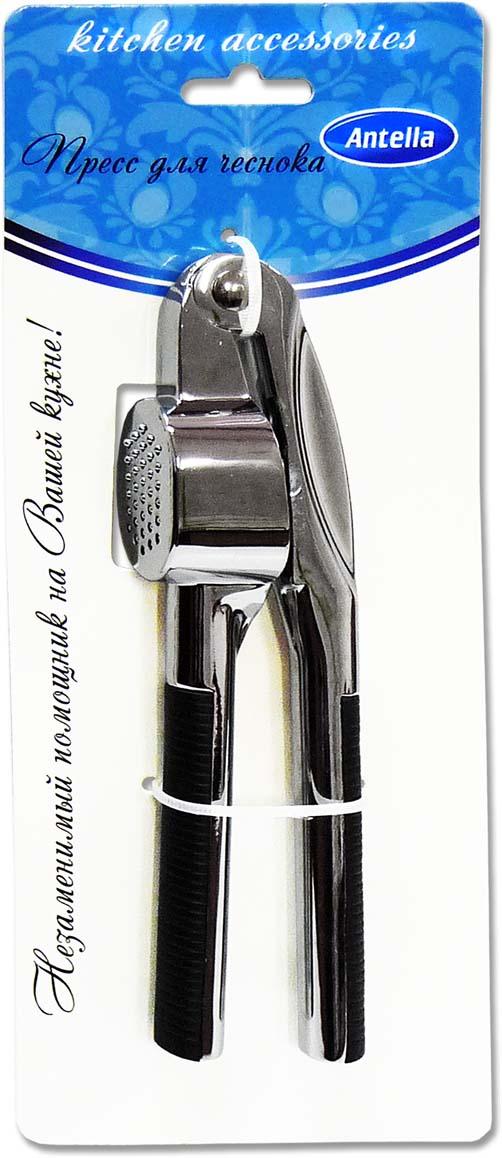 Пресс для чеснока Antella предназначен для быстрого измельчения зубчиков чеснока. Удобен и прост в использовании, легко моется.