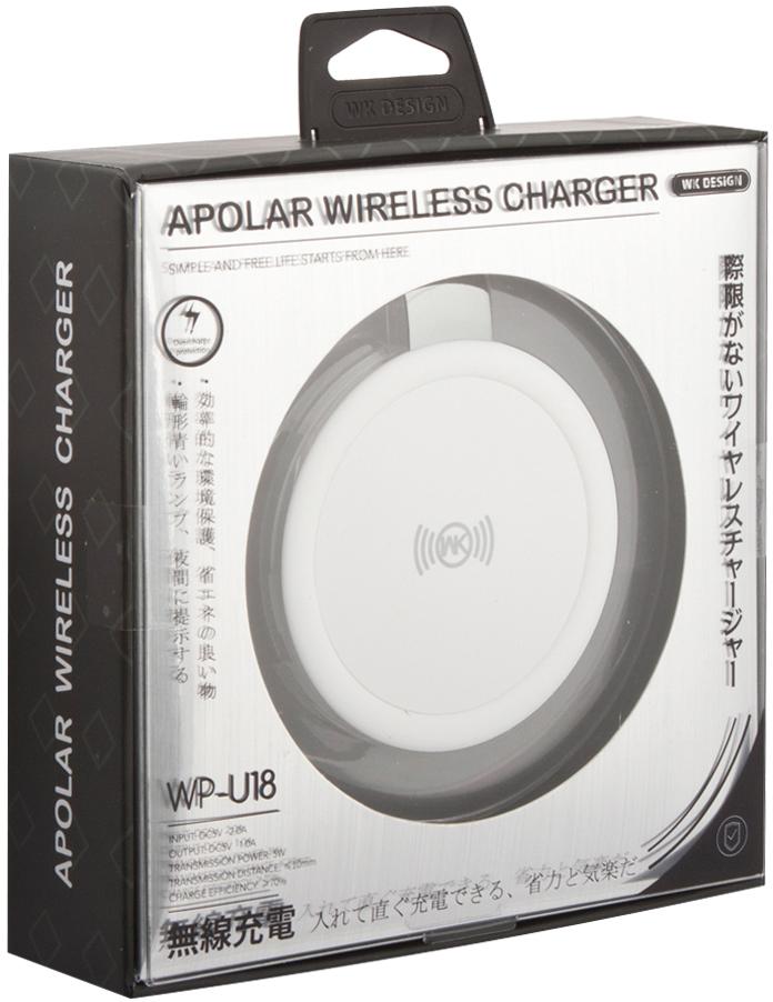WK WK-Wireless Charger WP-U18, White беспроводное зарядное устройство