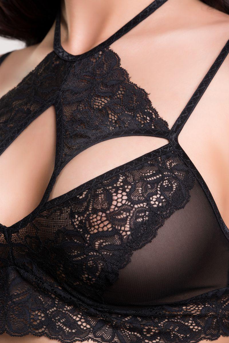 Топ-бралетт Erolanta Lingerie Collection, цвет:  черный.  742041.  Размер 42/44 Erolanta