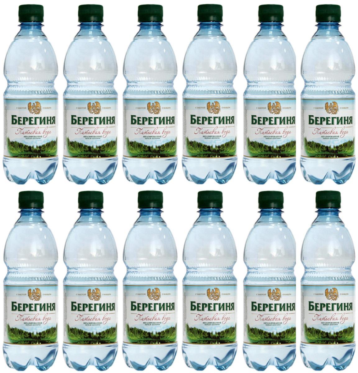 Вода негазированная первой категории очищенная, 12 шт по 0,5 л