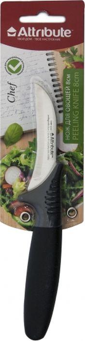 Нож изготовлен при использовании качественных материалов и отлично справится с поставленными задачами. Рассматриваемая модель оснащена комфортной рукояткой, благодаря которой нож максимально удобно располагается в руке. Такой нож пригодится на каждой кухне.