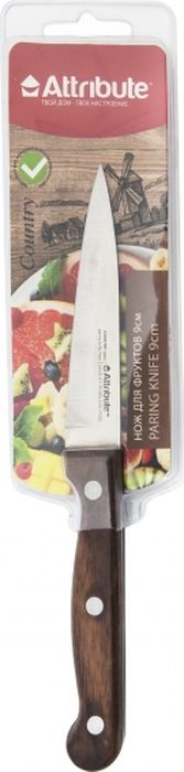 Нож для фруктов Attribute Knife Country, длина лезвия 9 см credit card knife folding blade knife pocket mini wallet camping outdoor pocket tools folding tactical knife