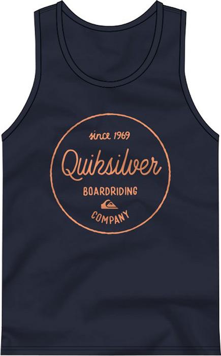 Майка мужская Quiksilver, цвет: синий. EQYZT04804-BYJ0. Размер XL (52) quiksilver майка quiksilver baysick tank kttp snow white heather