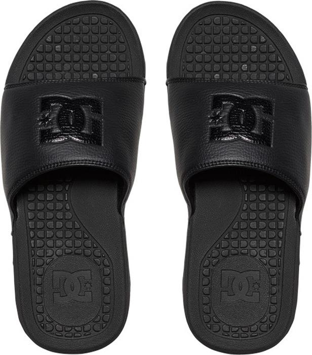 Шлепанцы мужские DC Shoes, цвет: черный. ADYL100026-3BK. Размер 13D (47)