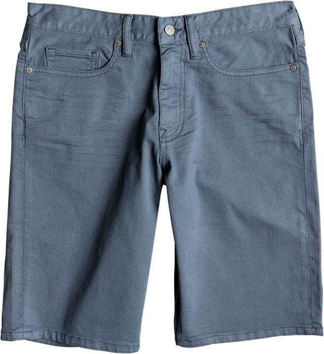 Шорты мужские DC Shoes, цвет: сине-зеленый. EDYDS03032-BMK0. Размер 36 (52)