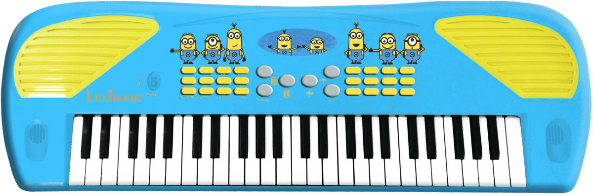 Lexibook Музыкальная игрушка Электросинтезатор Миньоны 49 клавиш цена и фото