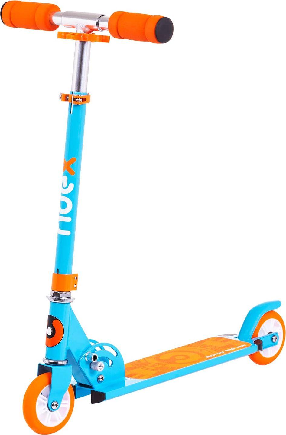 """Самокат Ridex """"Sonic"""", 2-колесный, цвет: синий, 100 мм"""