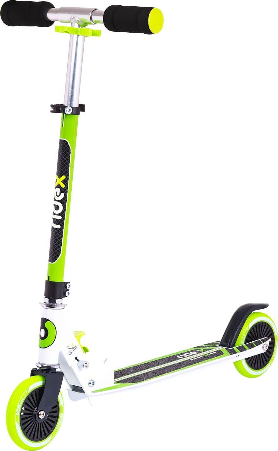 """Фото Самокат Ridex """"Rapid"""", 2-колесный, цвет: зеленый, 125 мм"""
