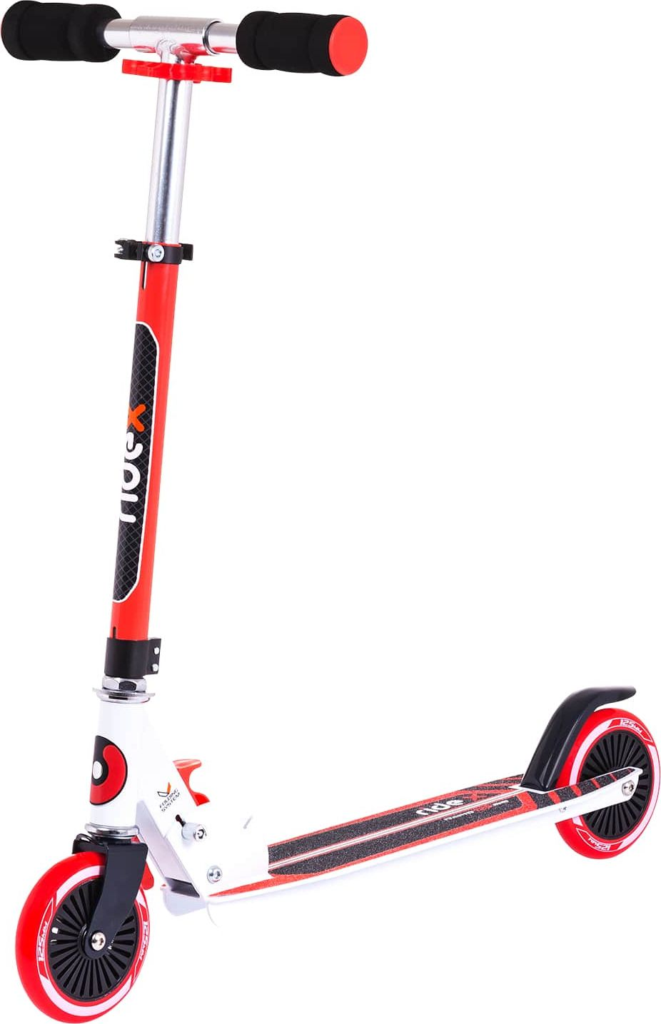 """Фото Самокат Ridex """"Rapid"""", 2-колесный, цвет: красный, 125 мм"""