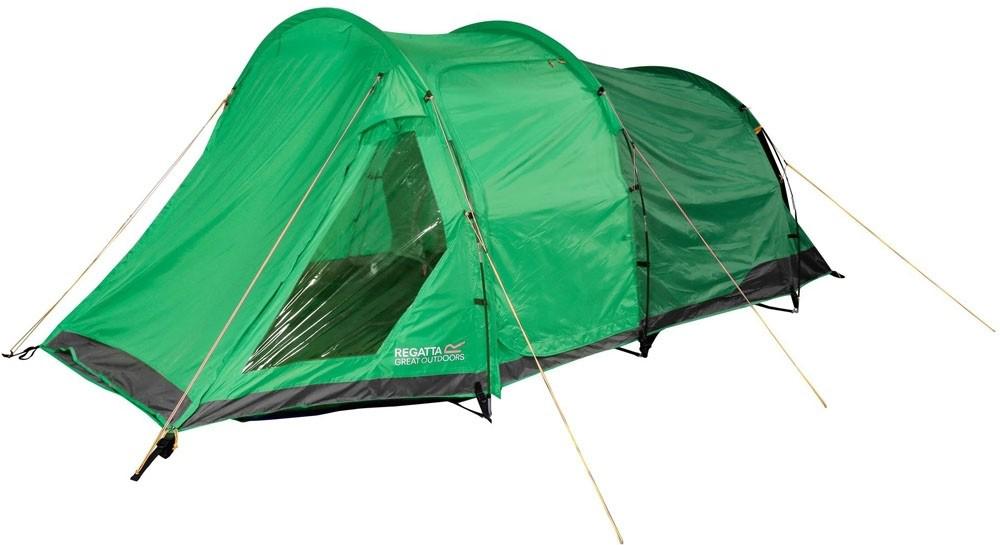 Палатка Regatta Vester 4 Tent, 4-местнаяRCE141Просторная четырехместная палатка для кемпинга c тамбуром для хранения вещей. Быстрая и удобная система cборки, 10 минут на установку. Прочная водонепроницаемая ткань Hydrаfort. Показатель водонепроницаемость тента составляет 3000 мм/в.ст/24ч. Огнеустойчивая ткань. В комплекте прочные и гибкие дуги из стекловолокна. Центральная и боковые двери для доступа в палатку. Внутренние карманы палатки для личных вещей, также внутри расположены точки крепления для фонаря. Множественные сетчатые карманы и дверь позволяют воздушным потокам беспрепятственно проникать внутрь, в тоже время защищает от проникновения насекомых. Фиксирующие оттяжки яркого цвета для дополнительное видимости в темное время суток. Вшитая нижняя поверхность из износостойкого полиэстера, водонепроницаемость 10 000 мм/в.ст/24ч. Просторная сумка для хранения и транспортировки позволяет легко собирать и разбирать палатку.Идеально подходит для семейного кемпинга. Характеристики: Размер палатки: 280 х 470 х 150 см.Размер (в собранном виде): 64 х 26 х 26 см.Вес: 8 кг. Как выбрать палатку – статья на OZON Гид.