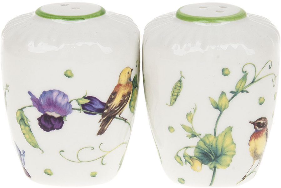 Набор для специй Best Home Porcelain Луговой горошек, 2 предмета набор для специй certified international вино и виноград 2 предмета