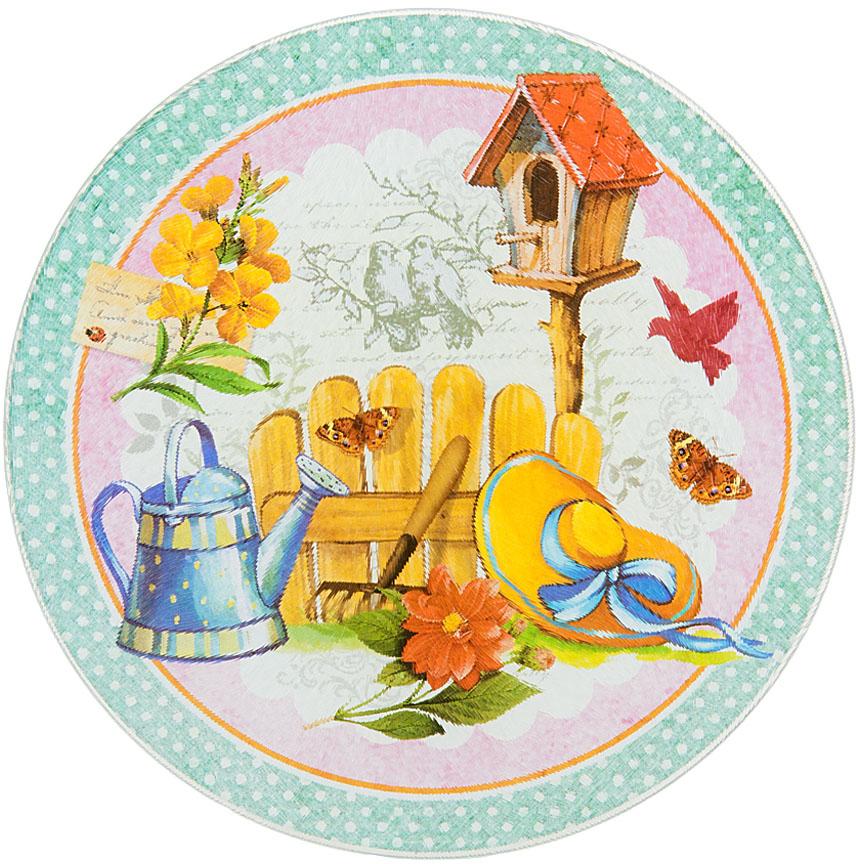 """Разделочная доска Nouvelle De France """"Сад"""" изготовлена из жаропрочного стекла.Функциональная и простая в использовании, разделочная доска отлично впишется в интерьер любой кухни и прослужит вам долгие годы."""