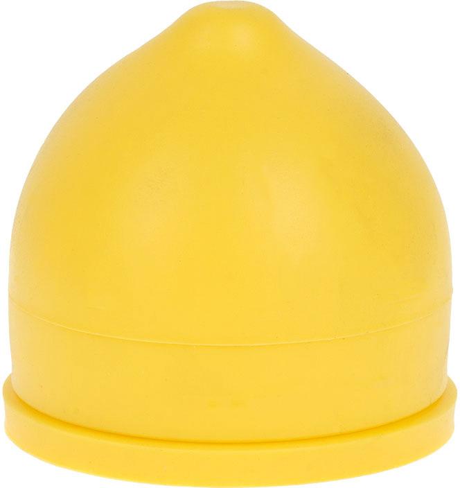 Контейнер для лимона выполнен из силикона.Удобный в использовании, привлекательный яркий дизайн.
